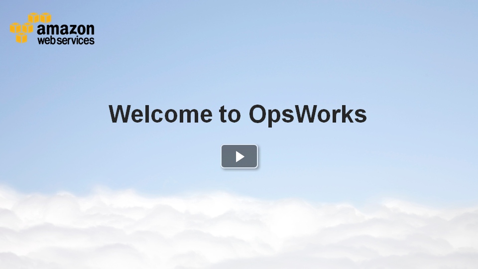 Video: Introducing AWS OpsWorks DevOps application management solution