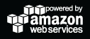 Powered by Amazon Web Services Black Logo