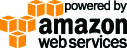 "Logo ""Powered By Amazon Web Services"""