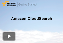 Getting Started with Amazon CloudSearch