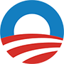 Logo von Obama for America
