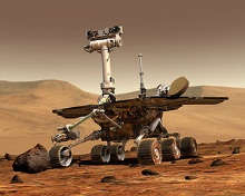 Robot d'exploration de Mars