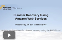 Video: Using Amazon Web Services for Disaster Recovery Webinar