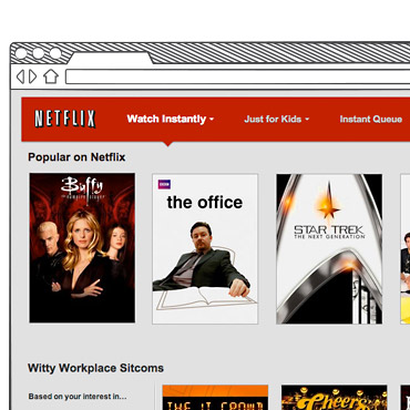 Netflix on AWS Cloud Computing Case Study Image