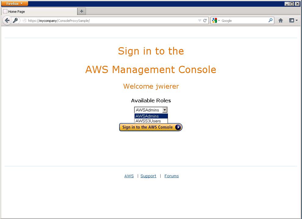 Amazon ec2 http proxy